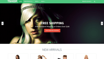15 Responsive Bootstrap E-Commerce Templates