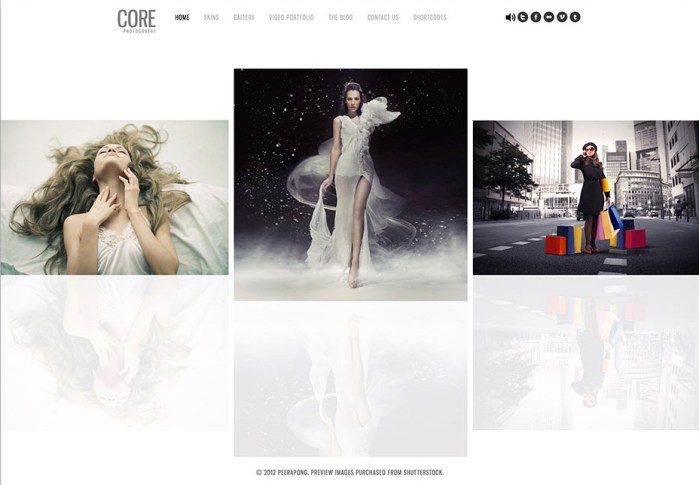 Core WordPress theme