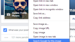 Use Google Reverse Image search to Detect Fake Facebook Profile Picture