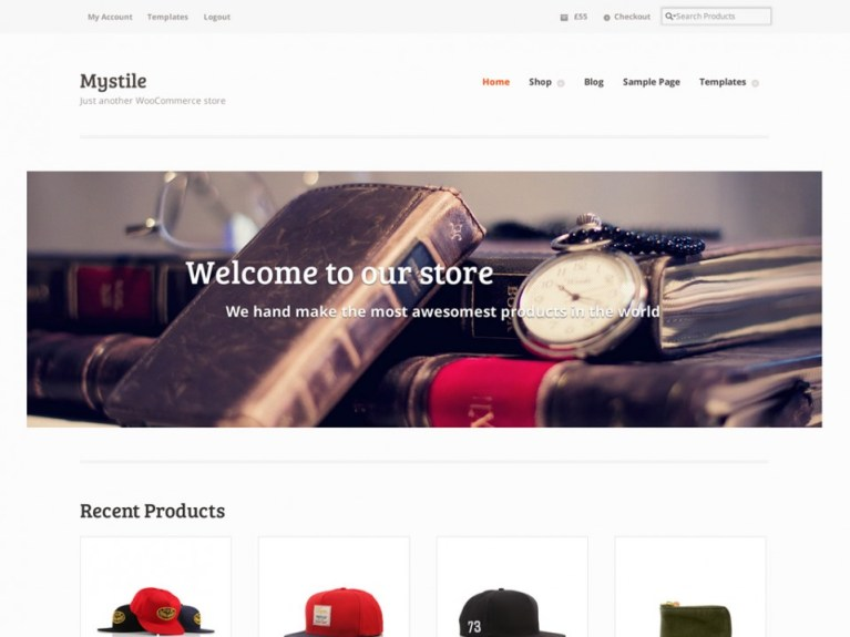 Mystil WooCommerce WordPress theme