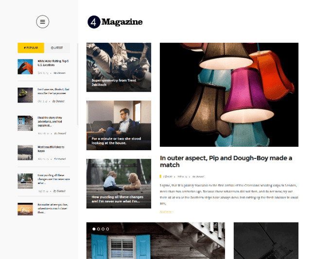4magazine WordPress theme