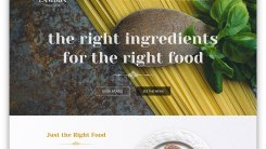 7 Best restaurant and food WordPress themes