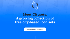 'Citysets' is The Free City-based Icon Set