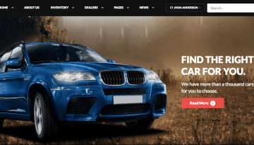 10 Best Car & Auto Portal Website Templates