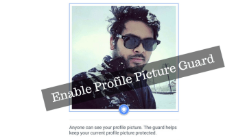 How to Add Profile Picture Guard on Facebook