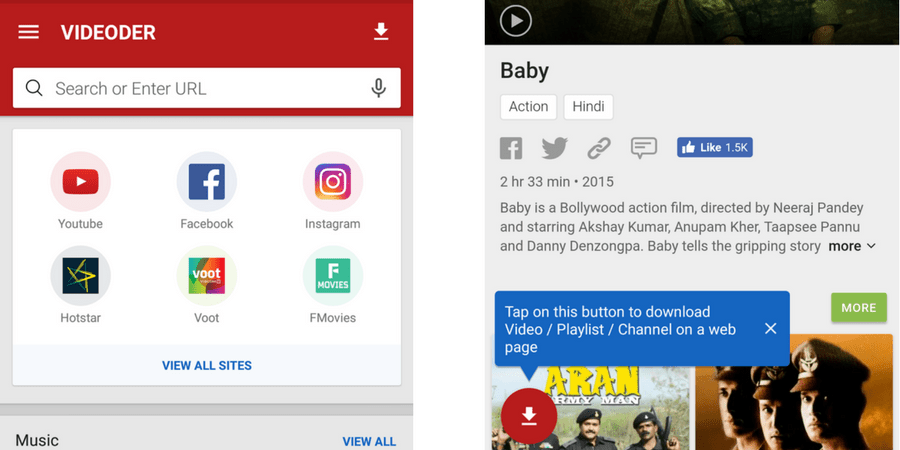 Download Videos or Movies From Hotstar