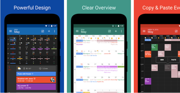 DigiCal calendar app