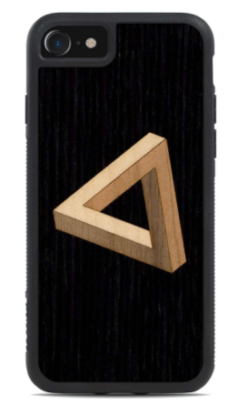 Penrose Triangle Inlay wooden cover