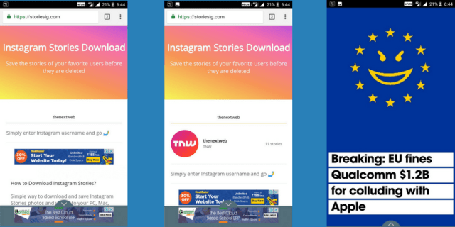Watch Instagram stories anonymously