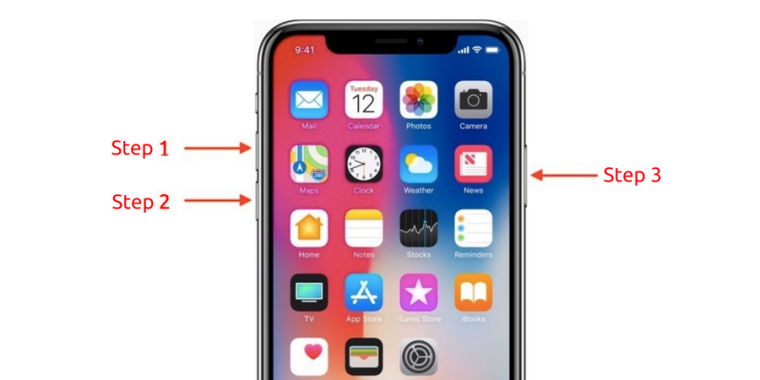 force restart iphone x