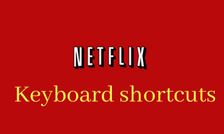 Netflix keyboard shortcuts