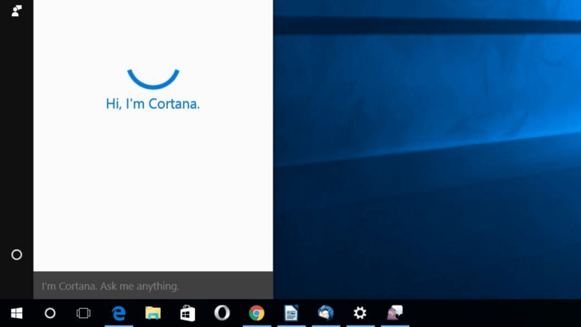 Uninstall Cortana Windows 10
