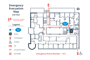 How to Create a Simple Building Evacuation Diagram