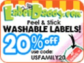 label daddy tile save 20%
