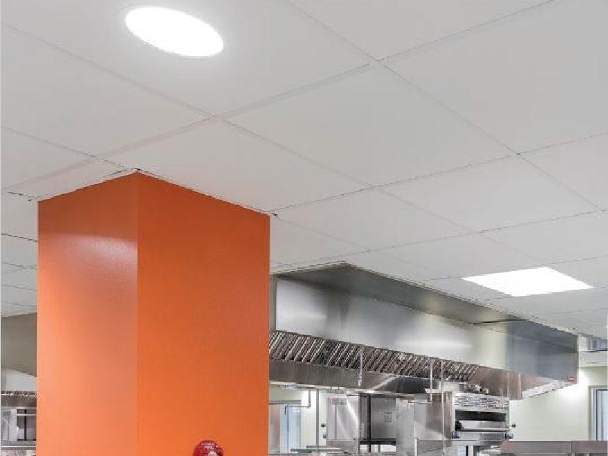 kitchen lay in panels usg