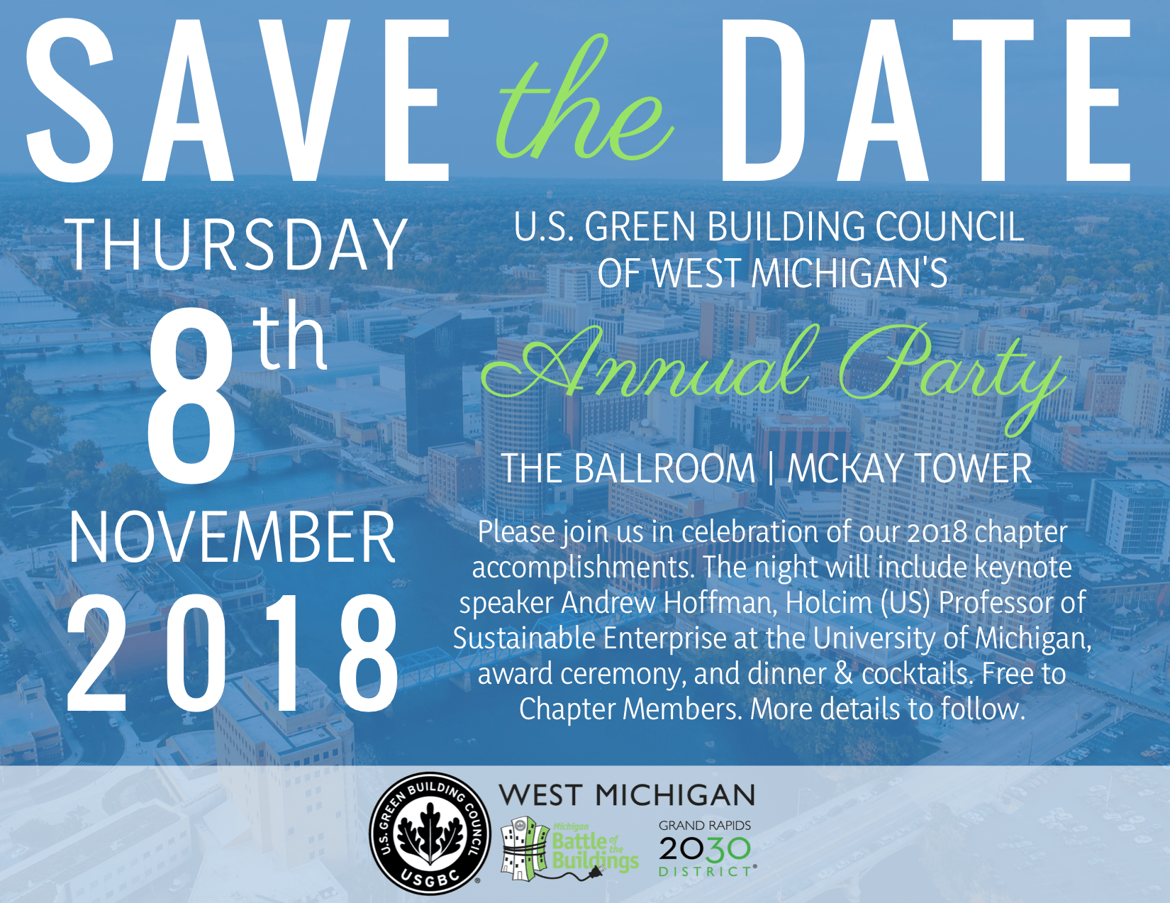 Save the Date Nov 8 Annual Meeting