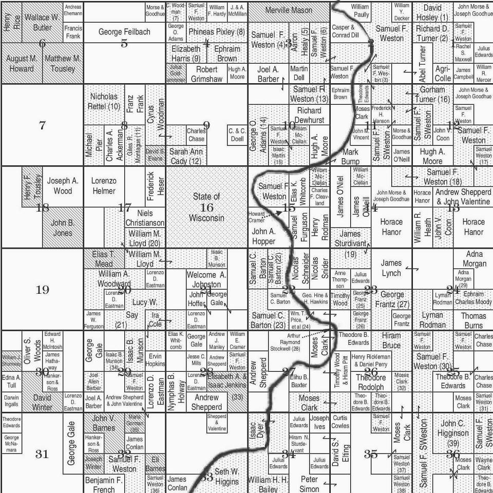 Wisconsin Plat Map