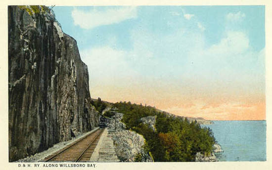 Penny Postcards From Essex County New York