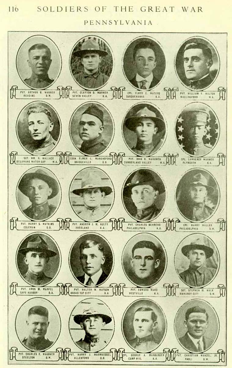 Fallen Pennsylvanians Of World War I USGenWeb Archives