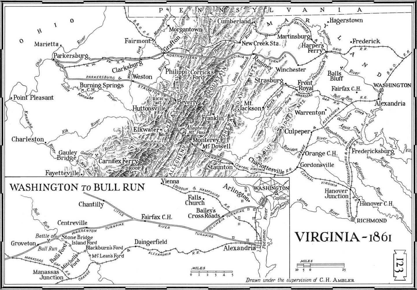 Virginia Maps Virginia Digital Map Library Table Of