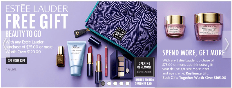 Estee Lauder 20% off + Choose 1 deluxe sample w/any $25 purchase