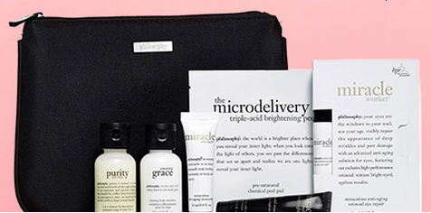 Philosophy gift with purchase - 5 pcs + free shipping with $35 ...