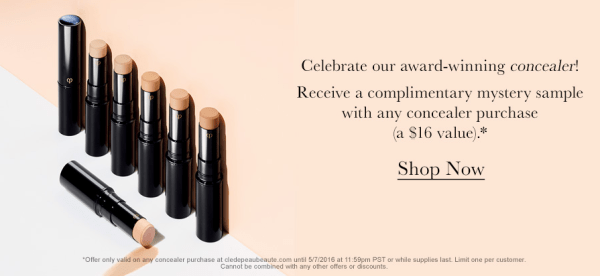 cle de peau beaute gift with purchase