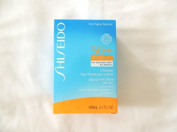Shiseido Ultimate Sun Protection Lotion Broad Spectrum SPF 50+ WetForce for Sensitive Skin & Children.JPG