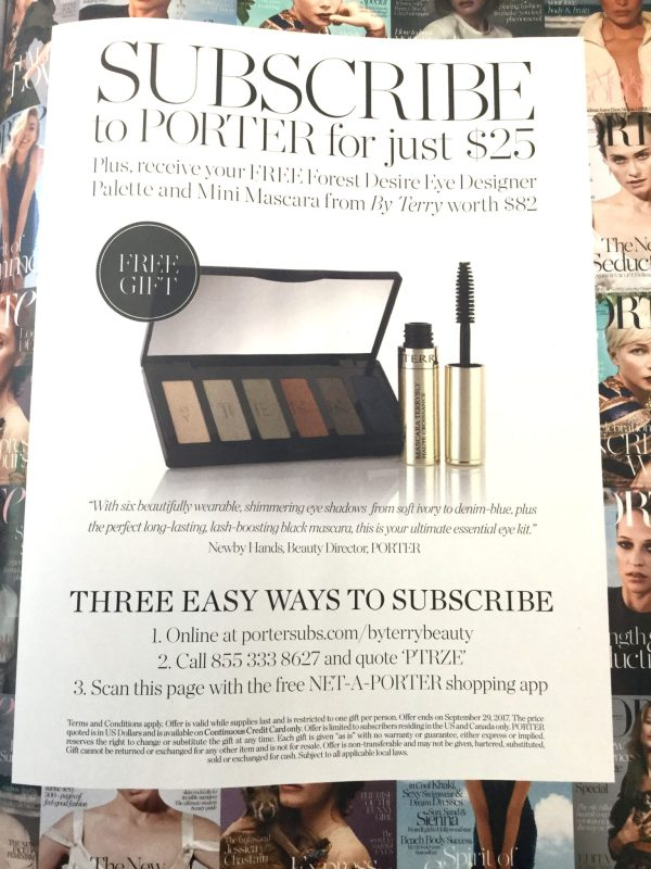 net a porter free gifts