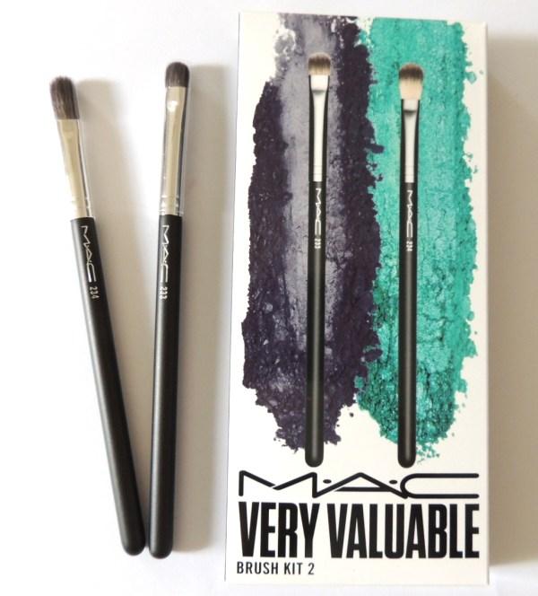MAC Split Fibre Brush Kit