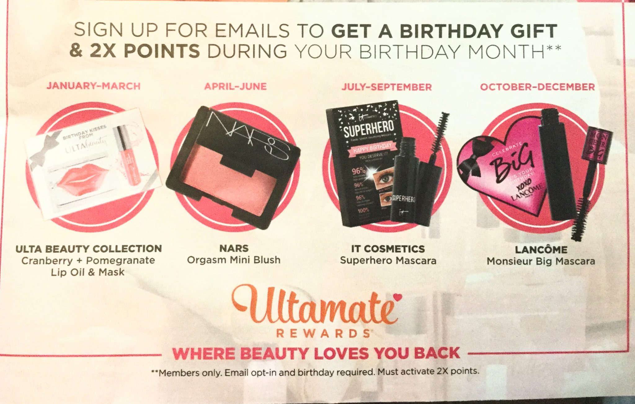 ulta birthday gifts 2018  sc 1 st  Gift With Purchase & Ulta Birthday Gifts 2018 - Gift With Purchase
