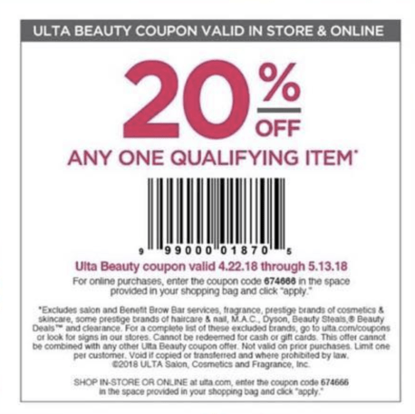d691563d67a Ulta: 20% off one items + 5x pts IT Cosmetics and NYX + new sale ...