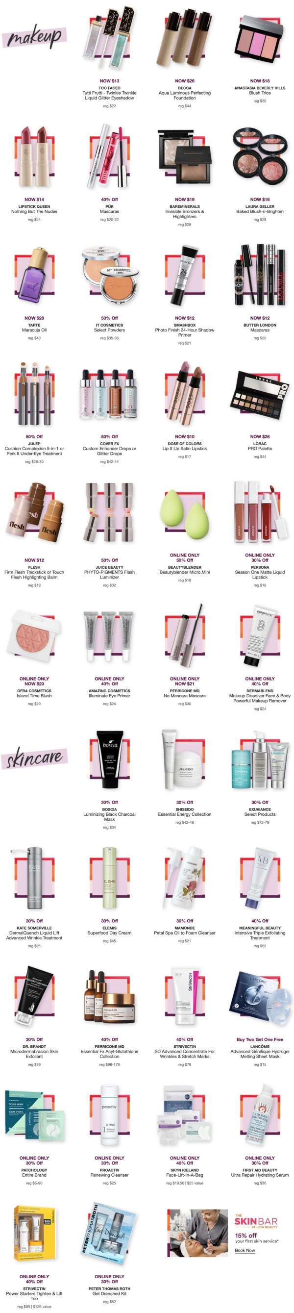 Ulta: FREE 4 Pc Urban Decay Gift w/$50 purchase + MORE