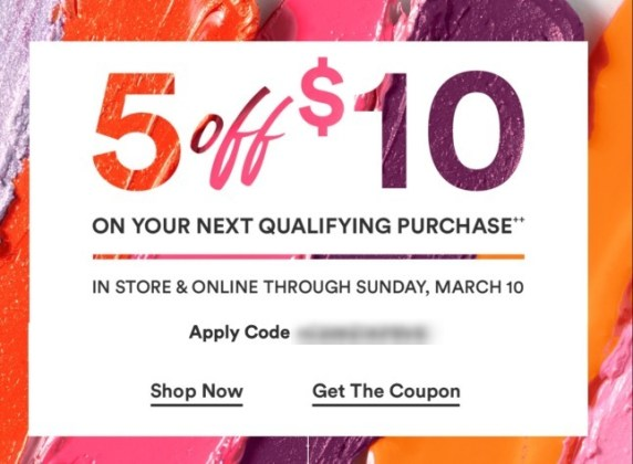 b2ce0289099 Ulta: $5 off $10 coupon + MORE - Gift With Purchase