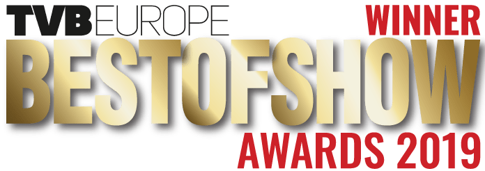 TVB Europe Best of Show 2019 Winner