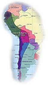 The Inca Empire, c. 1532