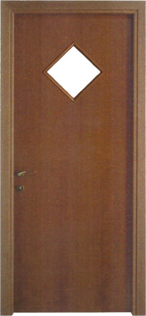 Usa de interior din lemn cu geam model A21