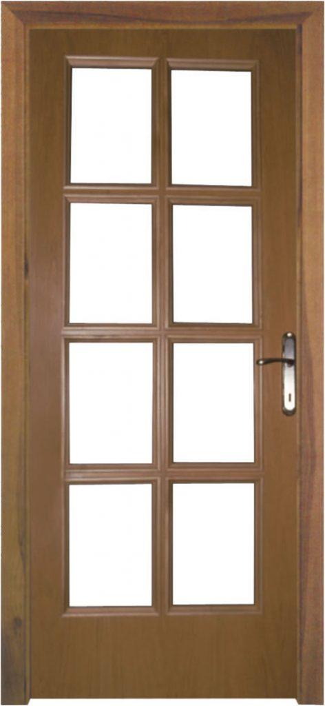 Usa de interior din lemn cu geam model ASP1