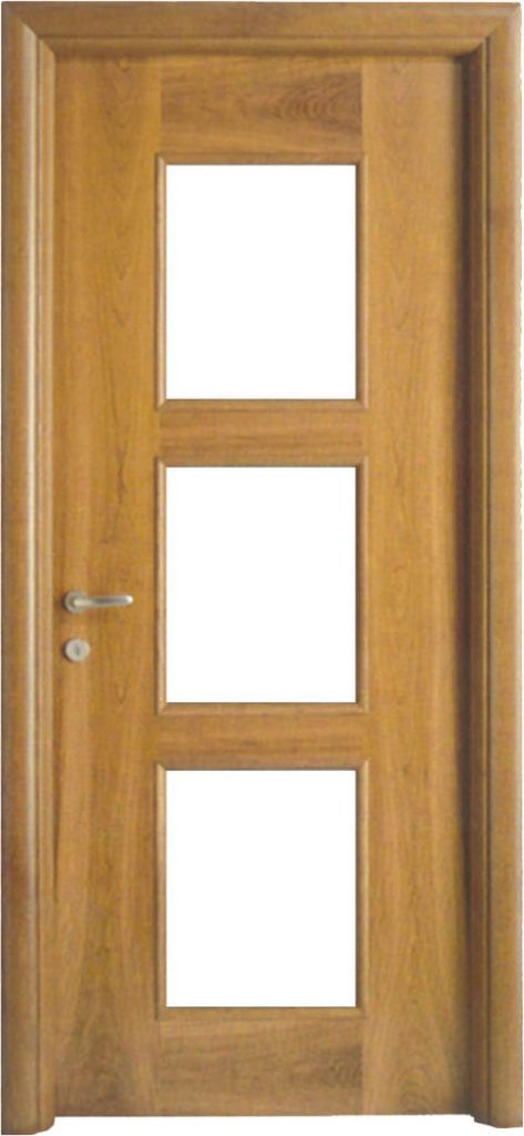 Usa de interior din lemn cu geam model ASP2-1