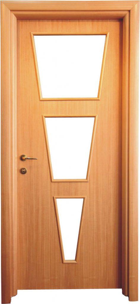 Usa de interior din lemn cu geam model ASP2-2