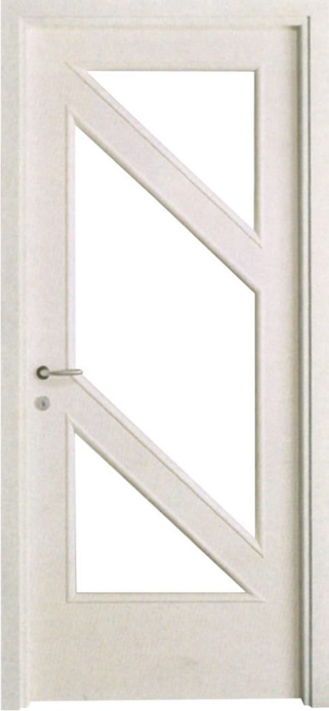 Usa de interior din lemn cu geam model ASP4