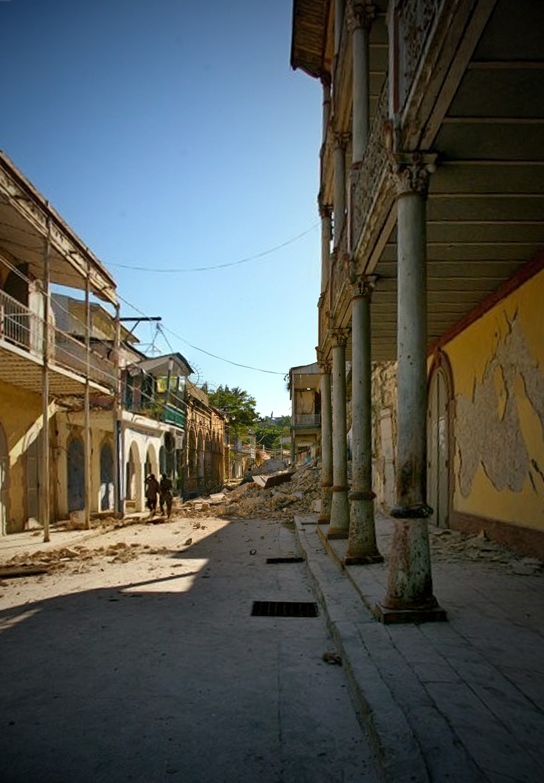 Traditional construction, Haiti