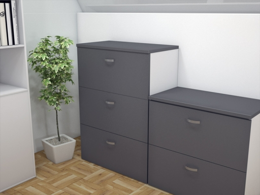 armoire silver pour dossiers suspendus
