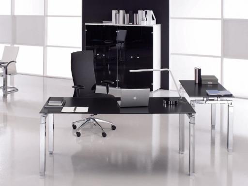 Bureau De Direction Design EPSILON En Verre