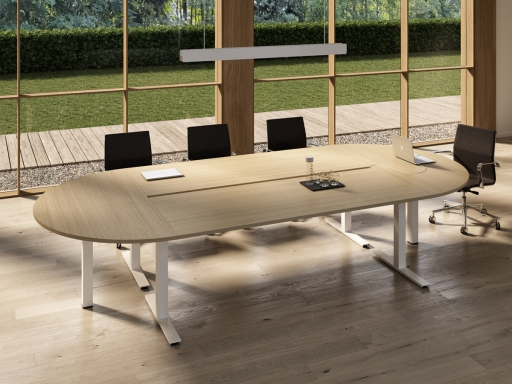 table de reunion ovale unity loop 6 a