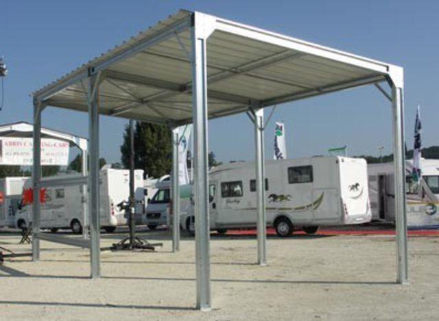 Abri Camping Car Metal Contact France Abris