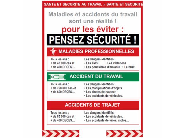 Affichage Securit Maladie Et Accidents Du Travail