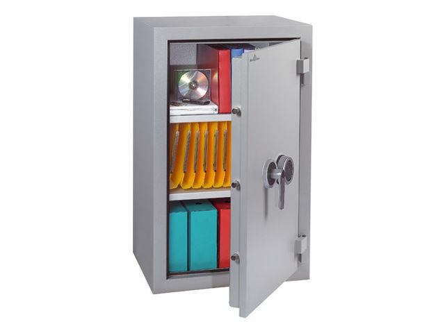 armoire forte double paroi ignifugee hartmann 190 litres serrure electronique
