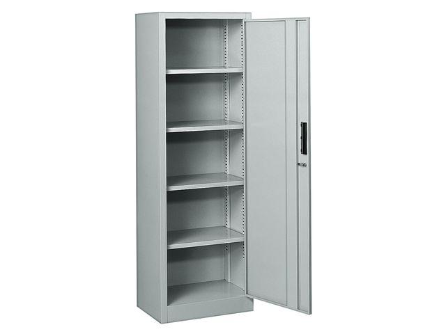 armoire garage metallique 5 niveaux l 60 x p 40x h 180 cm de la marque setam