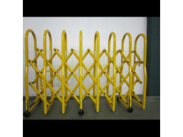 barriere de securite extensible sur roues controle de foule panka elite
